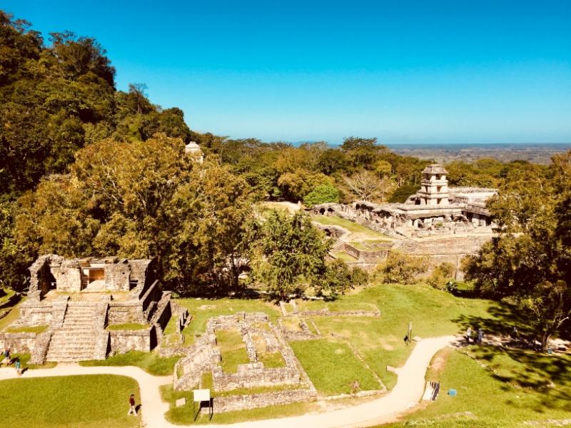 Maya-Stätte in Palenque | Chiapas | 27.2.2018